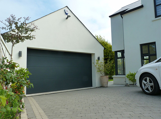 Anthracite ThermAdor Sectional Garage Door