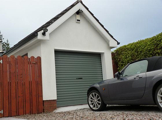 Merlin Grey Roller Door