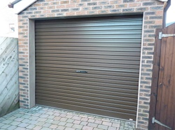 Van Dyke Brown Roller Garage Door