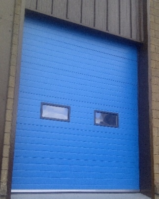 Thermador industrial XL forte Cornflower Blue with windows