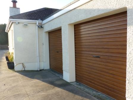 Golden Oak RollOver roller garage doors