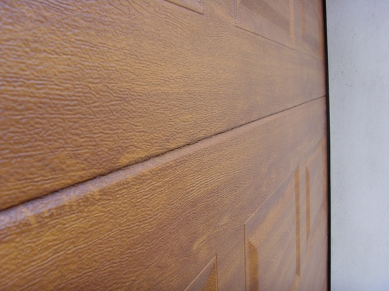 Golden oak Georgian fitted bedind reveals