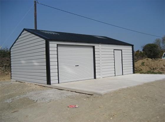 Goosewing Grey Roller Garage Door