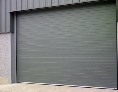 Industrial sectional door Merlin Grey