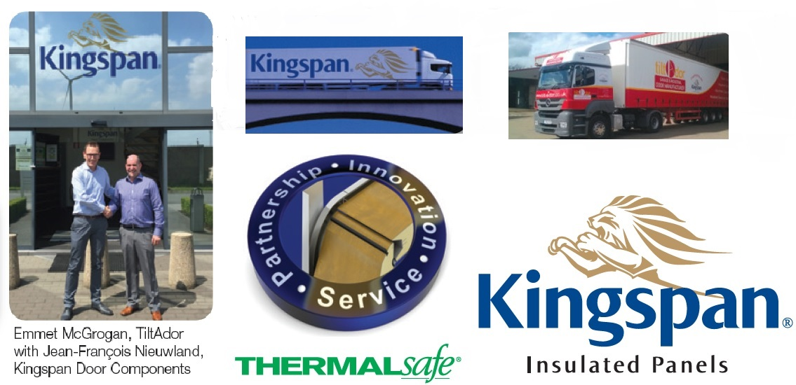 ThermAdor garage doors manufactured by TiltAdor use only high performance panels and premium quality door components by Kingspan.  sc 1 st  Tilt-a-Dor & Tilt-A-Dor Insulated Sectional Doors Ireland and Northern Ireland