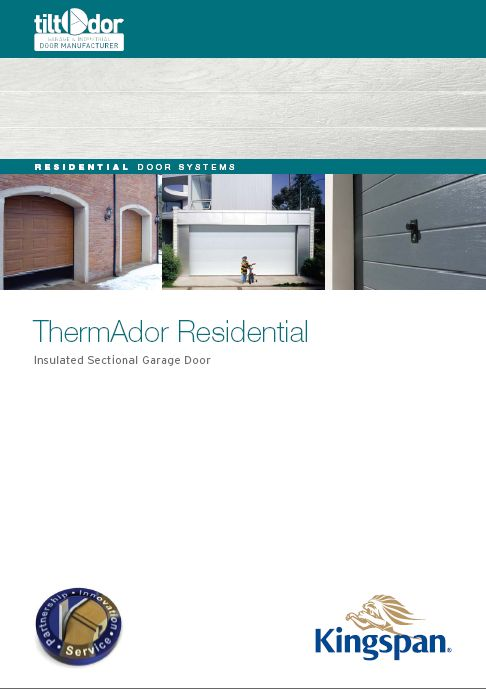 ThermAdor Residential Insulated Sectional Door