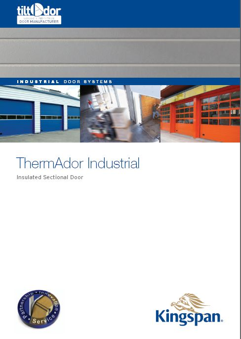 ThermAdor Industrial Sectional Door