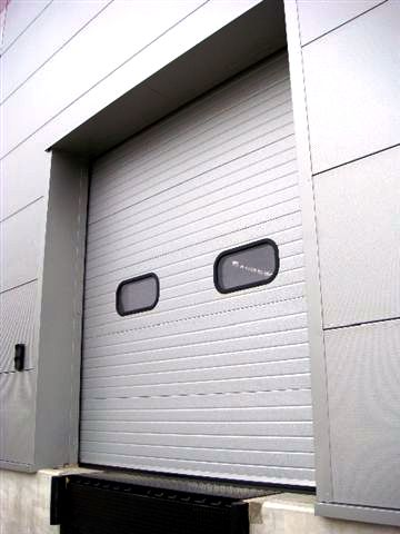 ThermAdor Industrial Goosewing Grey with windows