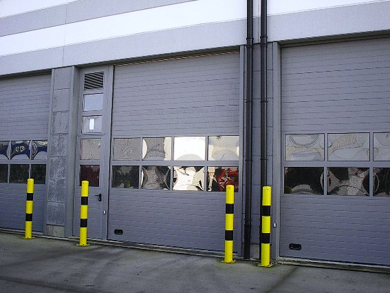 ThermAdor industrial with Vista windows