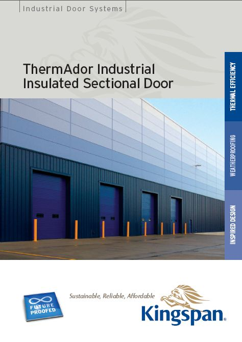 ThermAdor Industrial Kingspan industrial door